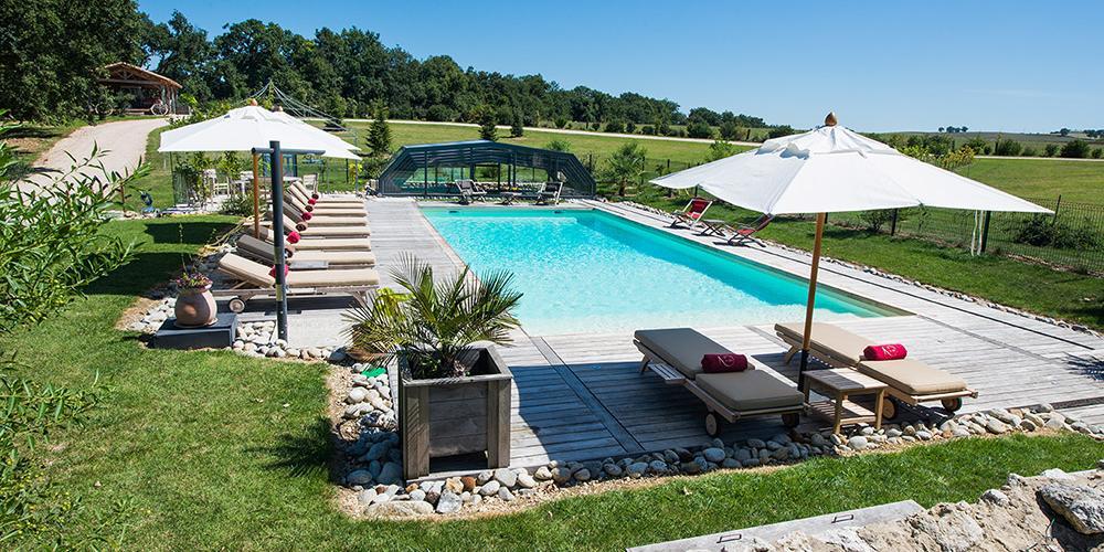 Vacances en chambres d 39 h tes ou gite avec piscine dans le gers for Chambre piscine